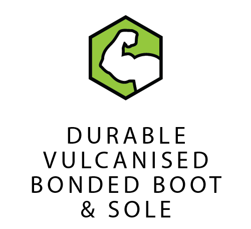 Vulcanised Bonded Boot & Sole
